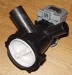 СМА_Насос Bosch (Askoll) 34Вт с улиткой (контакты-фишка спереди) 142370